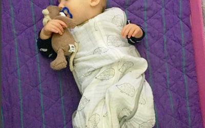 sleep training aka tears for mommy + baby