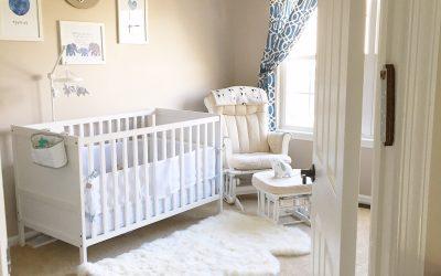 a glimpse into our son's nursery + decor