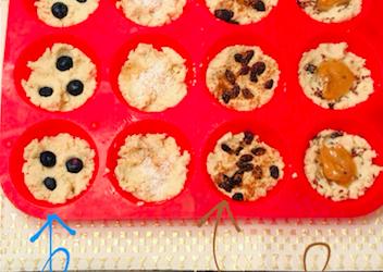 toddler pancake muffins